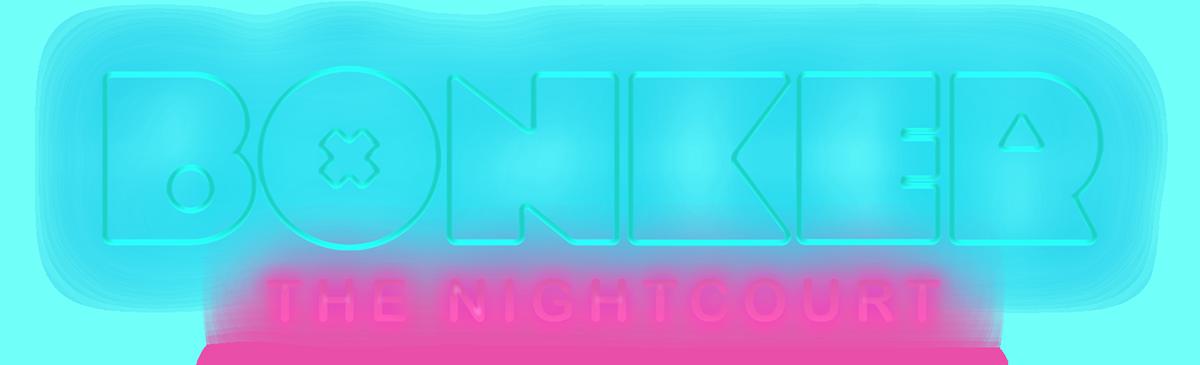 Tamperelaisen Bonker Nightcourt -yökerhon logo